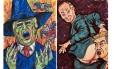 Cartuns de Jim Carrey criticando o presidente Donald Trump Foto: Reprodução