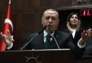 Presidente turco, Recep Tayyip Erdogan Foto: ADEM ALTAN / AFP