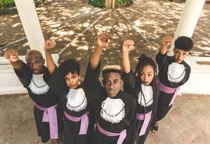 RG - ELA - Formandos negros na Bahia Foto: Foto de Matheus Leite fez sucesso nas redes sociais / Matheus Leite