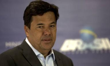 O ministro da Educação, Mendonça Filho durante coletiva 18-01-2018 Foto: Jorge William / Agência O Globo