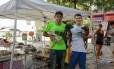 Joelson Avelino Torres mantém o projeto com a ajuda de voluntários Foto: Brenno Carvalho / Agência O Globo
