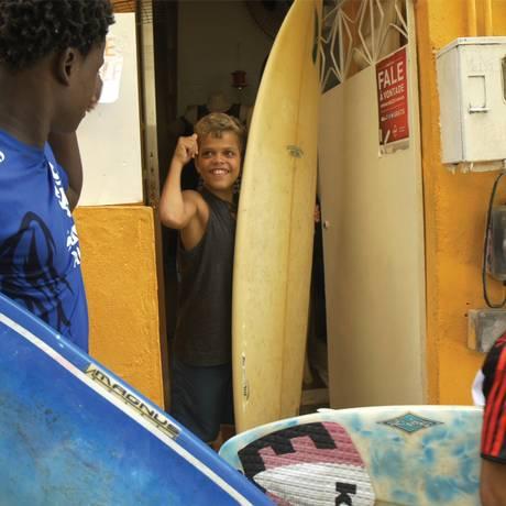 Cena do filme 'Surf no Alemão' Foto: Divulgação