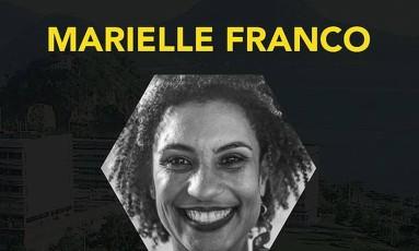 Homenagem feita à vereadora no site oficial do evento Foto: Reprodução / Brazil Conference at Harvard & MIT