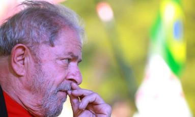 O ex-presidente Luiz Inacio Lula da Silva Foto: DIEGO VARA / REUTERS 19/03/2018