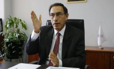 Com renúncia de PPK, Martín Vizcarra é o novo presidente do Peru Foto: El Comercio/GDA