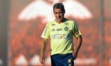 Carpegiani pode ser efetivado Foto: Gilvan de Souza/Flamengo