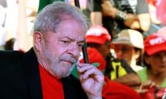 O ex-presidente Luiz Inácio Lula da Silva Foto: ITAMAR AGUIAR / AFP 19/03/2018