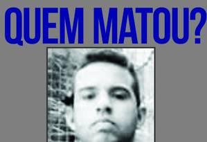 Felipe Mesquita, PM morto na Rocinha, na noite desta quarta-feira. Foto: Divulgação/Portal dos Procurados
