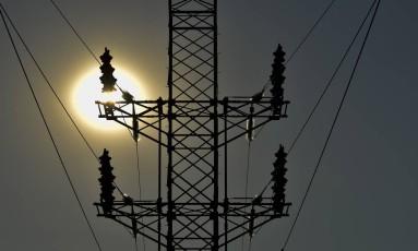Torres de energia elétrica em São José dos Campos. Foto : Lucas Lacaz Ruiz/A13/Agência O Globo