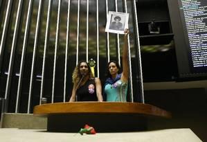 Sessão solene na Câmara em homenagem à memoria de Marielle Franco Foto: Givaldo Barbosa / Agência O Globo