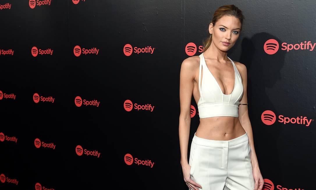Martha Hunt, uma das angels Victoria's Secret Jamie McCarthy / Getty Images for Spotify