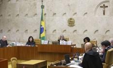 Supremo Tribunal Federal julga o pedido de habeas corpus do ex-presidente Lula Foto: Ailton Freitas / Agência O Globo