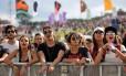 Público no primeiro dia do Lollapalooza de 2017 Foto: Lucas Tavares / Agência O Globo