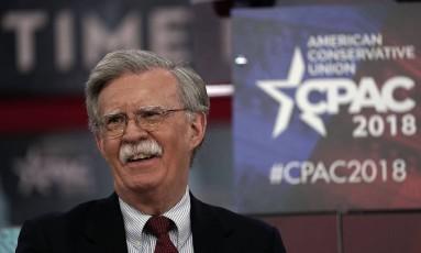 Bolton: novo conselheiro de Segurança Nacional Foto: ALEX WONG / AFP