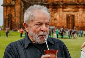 Lula: 'se eu tiver uma única culpa, vou dizer que eu não mereço ser candidato Foto: Ricardo Stuckert/ divulgação