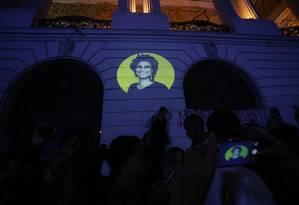 Manifestação contra o assassinato de Marielle Franco (PSOL) e do motorista Anderson na Cinelândia Foto: Marcio Alves