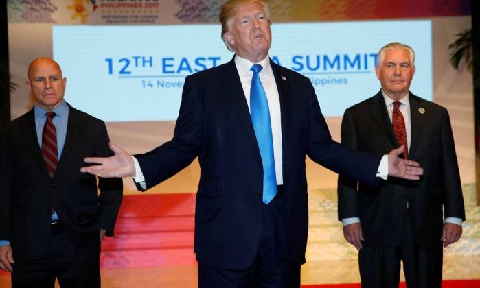 Mais uma saída. Trump tem novo conselheiro de segurança nacional