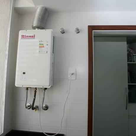 Consumidores poderão escolher norma para instalação de gás e aquecedores Foto: Marcelo Piu / Agência O Globo