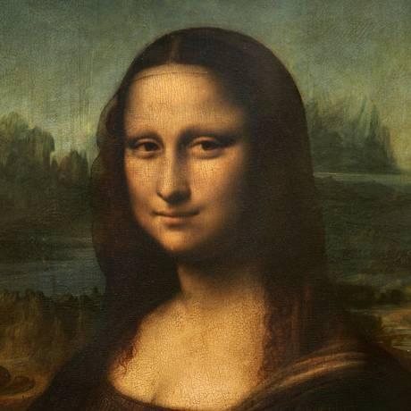 Mona Lisa: com 53 cm de largura por 77 cm de altura, o quadro foi trabalhado e retrabalhado à exaustão Foto: Jean-Pierre Muller / AFP PHOTO