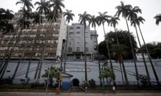 Fachada do Hospital Central da PM Foto: Rafael Moraes / Agência O Globo