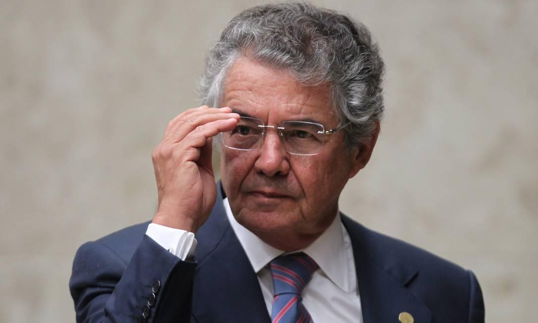 O ministro Marco Aurélio Mello, do Supremo Tribunal Federal, é o relator do pedido Foto: Ailton de Freitas / Agência O Globo / 21-3-18