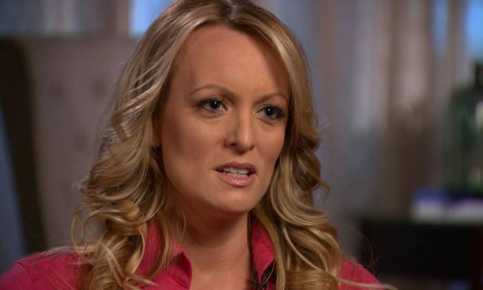Atriz pornô diz que foi ameaçada para não revelar caso com Trump