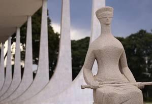 O Supremo Tribunal Federal, em Brasília Foto: Jorge William / Agência O Globo
