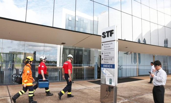 Incêndio atinge anexo do STF, mas é rapidamente controlado