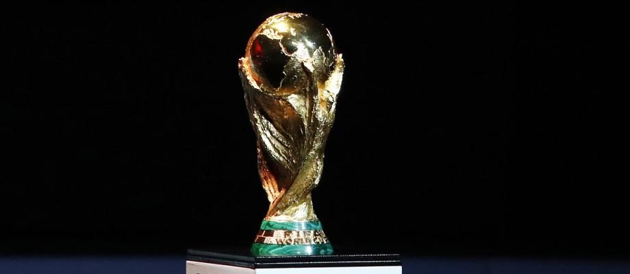 O troféu da Copa do Mundo de futebol Foto: Pavel Golovkin / Pavel Golovkin/AP