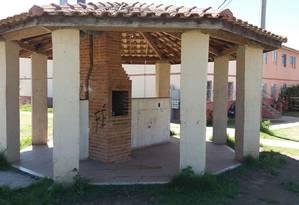 O local onde os jovens foram mortos Foto: Marcelo Régua