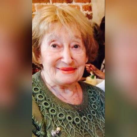 Mirelle Knoll, 85 anos, foi esfaqueada e queimada até a morte Foto: Reprodução
