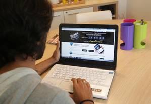 Consumidor tem direito a se arrepender de compras feitas pela internet Foto: Márcio Alves / Agência O Globo