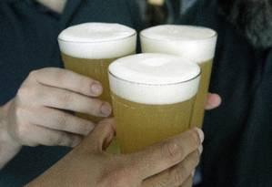 Cerveja em bar no Leblon, no Rio de Janeiro Foto: Luiz Ackermann/Agência O Globo/31-01-2018