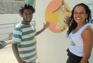 Mestre Flavinho e Lazir Sinval: vitória da união da cultura Foto: Geraldo Ribeiro
