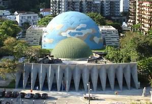 Planetário da Gávea Foto: Reprodução