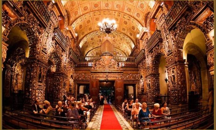 Mosteiro de São Bento Foto: Divulgação