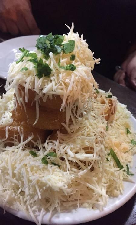 Bar da Gema. Polenta frita, queijo e mais queijo. Rua Barão de Mesquita 615, Tijuca (3549-1418) Foto: Leandro Amaral / Divulgação