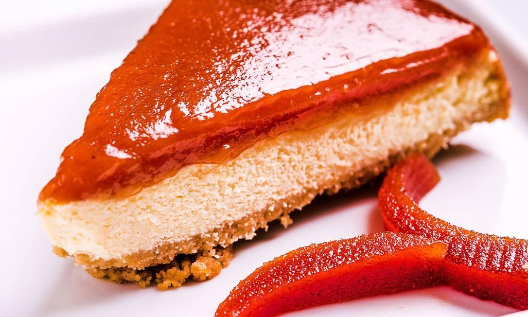 BioCarioca. A versão de Romeu e Julieta em forma de torta de goiabada com queijo (R$ 13,50). Rua Xavier da Silveira 28, Copacabana. (2523-4820) Foto: FILICO / Divulgação