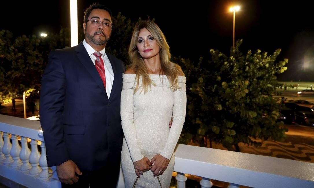O juiz Marcelo Bretas e a esposa, a também juíza Simone Diniz Bretas Foto: Pablo Jacob / Pablo Jacob