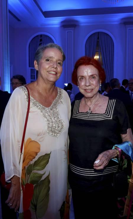 Paula Barreto e Lucy Barreto Foto: Marcos Ramos / Marcos Ramos