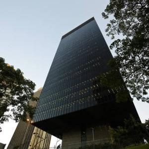 Fachada do prédio do BNDES, no Centro do Rio Foto: Guilherme Leporace/Agência O Globo/06-04-2016