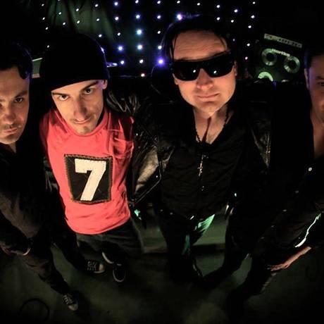 Banda U2 CWB, especializada em cover da banda irlandesa Foto: Divulgação
