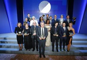 Todos os vencedores do Prêmio Faz Diferença, no Copacabana Palace Foto: Pablo Jacob / Agência O Globo