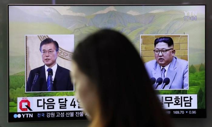 Coreias têm encontro marcado para 27 de Abril