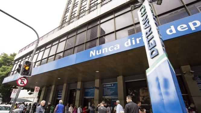 Sede do Detran-RJ Foto: Ana Branco / Agência O Globo