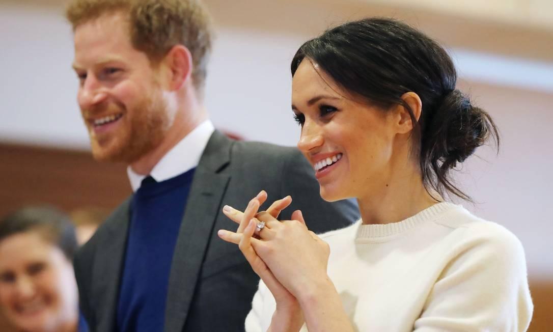 da5e4d94a Príncipe Harry e a atriz norte-americana Meghan Markle se casarão em maio  Foto: