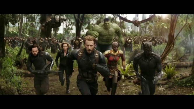 ''Os Vingadores: Guerra Infinita