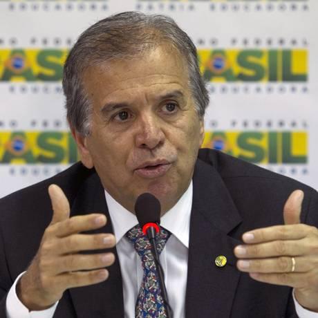 Na foto, o ex- ministro da Secretaria dos Portos, Edinho Araújo 13-01-2015 Foto: Jorge William / O Globo