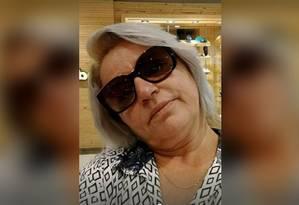 Professora Tânia da Silva foi baleada com um tiro na cabeça em Belford Roxo Foto: Reprodução / Facebook