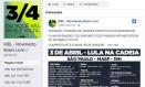 MBL usa aplicativo irregular para compartilhar dados no Facebook Foto: Reprodução internet